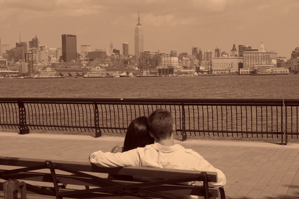 Location Of Our Engagement Portraits - Photo Sites - Hoboken, NJ
