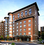 Courtyard Inn By Marriott - Hotels/Accommodations - 40 Webster St, Brookline, MA, 02446, US