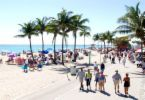 Hollywood Beach - Beaches, Attractions/Entertainment - South Ocean Drive, Hollywood, FL, USA
