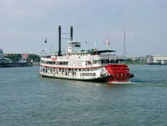 Steamboat Natchez - Entertainment - 1 Toulouse St., New Orleans, LA, 70130, United States