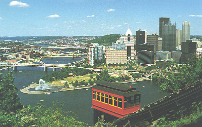Duquesne Incline - Attractions/Entertainment - 1220 Grandview Ave, Pittsburgh, PA, 15211, US
