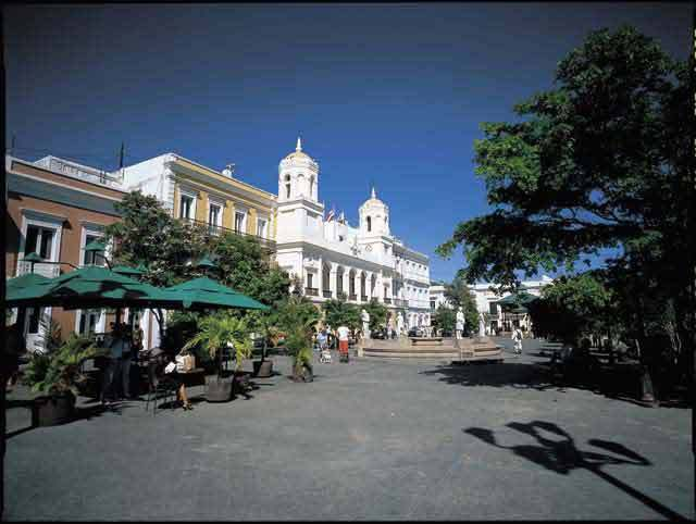 Plaza De Armas - Shopping, Attractions/Entertainment - Cathedral of San Juan Bautista, San Juan 00901, San Juan, PR