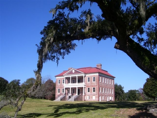 Drayton Hall - Attractions/Entertainment - Drayton Hall Museum, 3380 Ashley River Rd, Charleston, SC, 29414-7105