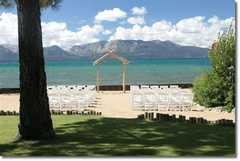 ariella and joe's wedding map in Tahoe City, CA, USA