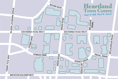 Heartland Outlet Mall - Attractions/Entertainment - 6045 Mavis Rd, Peel Regional Municipality, ON, L5R 3T7, CA