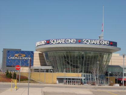 Square One Shopping Centre - Attractions/Entertainment, Shopping - 100 City Centre Dr, Mississauga, ON, L5B, CA