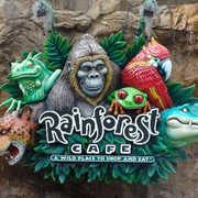 Rainforest Cafe - Restaurant - 1800 E Buena Vista Dr, Lake Buena Vista, FL, United States