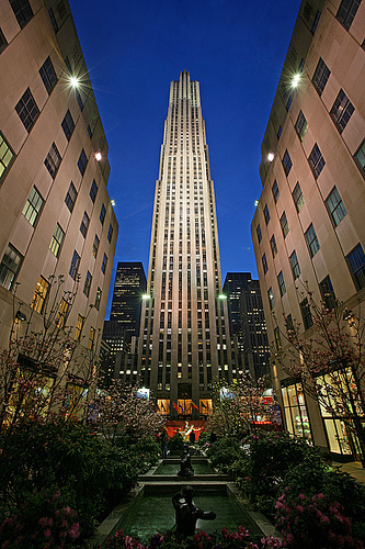Rockefeller Center - Attractions/Entertainment, Shopping - 45 Rockefeller Plz, New York, NY, United States