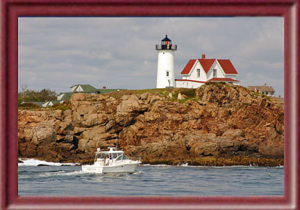 Nubble Lighthouse - Ceremony Sites, Attractions/Entertainment - Sohier Park Rd, Cape Neddick, ME, 03909, US
