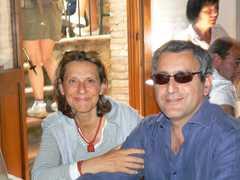De bestemming bij Nino en Maria Luisa - La destinazione da Nino e Maria Luisa - de busreis - il viaggio in autobus - Valiano, Toscane