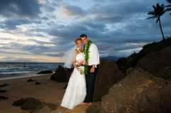 Po'olenalena Beach - Ceremony - Kula, HI, US