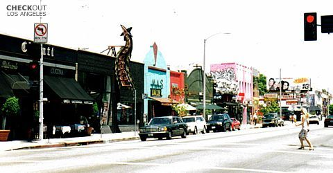 Melrose Avenue - Shopping, Attractions/Entertainment - Melrose Ave, Los Angeles, California, US