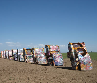 Cadillac Ranch - Attractions/Entertainment - Cadillac Ranch, US