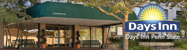 Days Inn Penn State - Hotels/Accommodations, Attractions/Entertainment - 240 S Pugh St, State College, PA, 16801