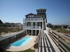 The Outer Banks Wedding In April in Kitty Hawk, NC, USA