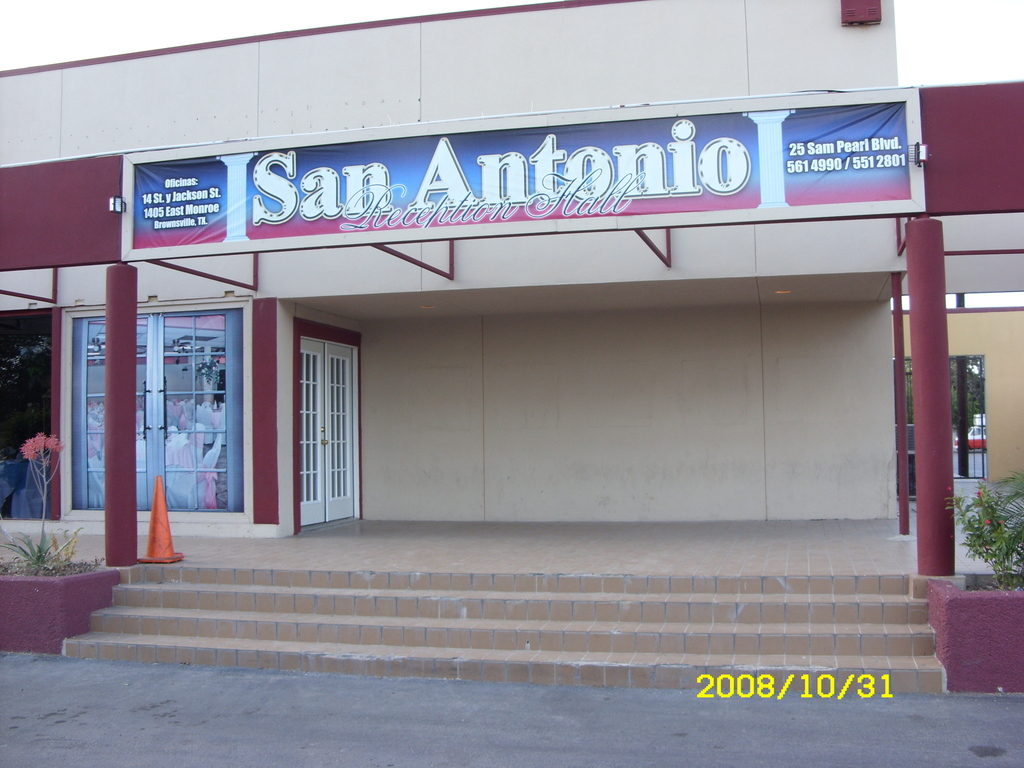 Tony's Palace - Reception Sites - 25 Sam Perl Blvd., Brownsville, TX, 78520-5717