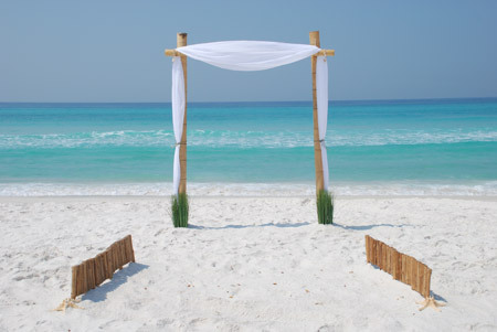 Govan & Tara's Wedding - 5/8 - Ceremony Sites - Seacrest Beach, Panama City Beach, FL, 32413