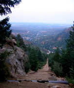 manitou incline - hiking - Mt Manitou, US