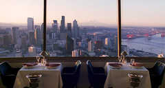 Space Needle Sky City - Restaurants - 400 Broad St, Seattle, WA, 98109