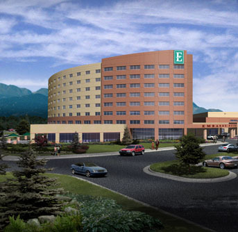 Embassy Suites Hotel - Hotels/Accommodations, Reception Sites - 4705 Clydesdale Parkway, Loveland, CO, 80538