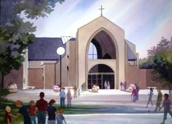 St Cecilia Church - Ceremony Sites - 2900 Hoover Ave, Ames, IA, 50010