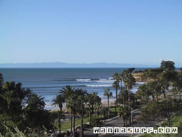 Leadbetter Beach Surf Spot / Scenic Vista - Beaches, Cruises/On The Water -