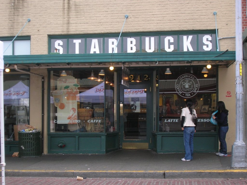 Starbucks - Restaurants, Attractions/Entertainment, Coffee/Quick Bites - 1912 Pike Place, Seattle, WA, United States