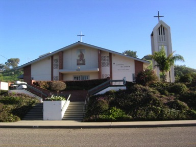 St. Paul's The Apostle Catholic Church - Ceremony Sites - 800 Bello St, Pismo Beach, CA, 93449