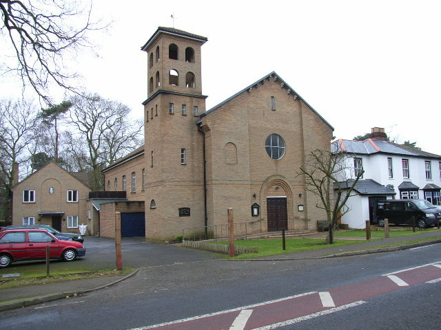 Holy Ghost Catholic Church - Ceremony Sites - New Wokingham Rd, Crowthorne, Bracknell Forest, RG45 6JG , England