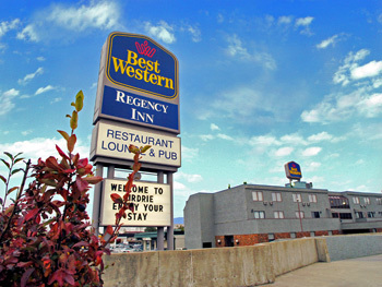 Best Western Regency Inn - Hotels/Accommodations, Reception Sites - 121 Edmonton Trl, Airdrie, AB, Canada
