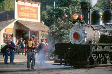 Roaring Camp Railroads - Attractions/Entertainment - 5355 Graham Hill Rd, Felton, CA, United States