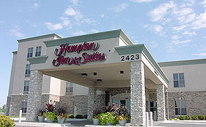 Hampton Inn & Suites - Hotels/Accommodations - 2423 Bushwood Drive, Aurora, IL, United States