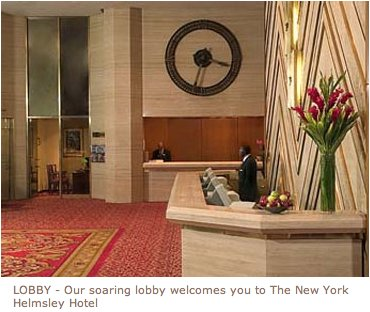 New York Helmsley Hotel - Hotels/Accommodations - 212 E 42nd St, New York, NY, United States