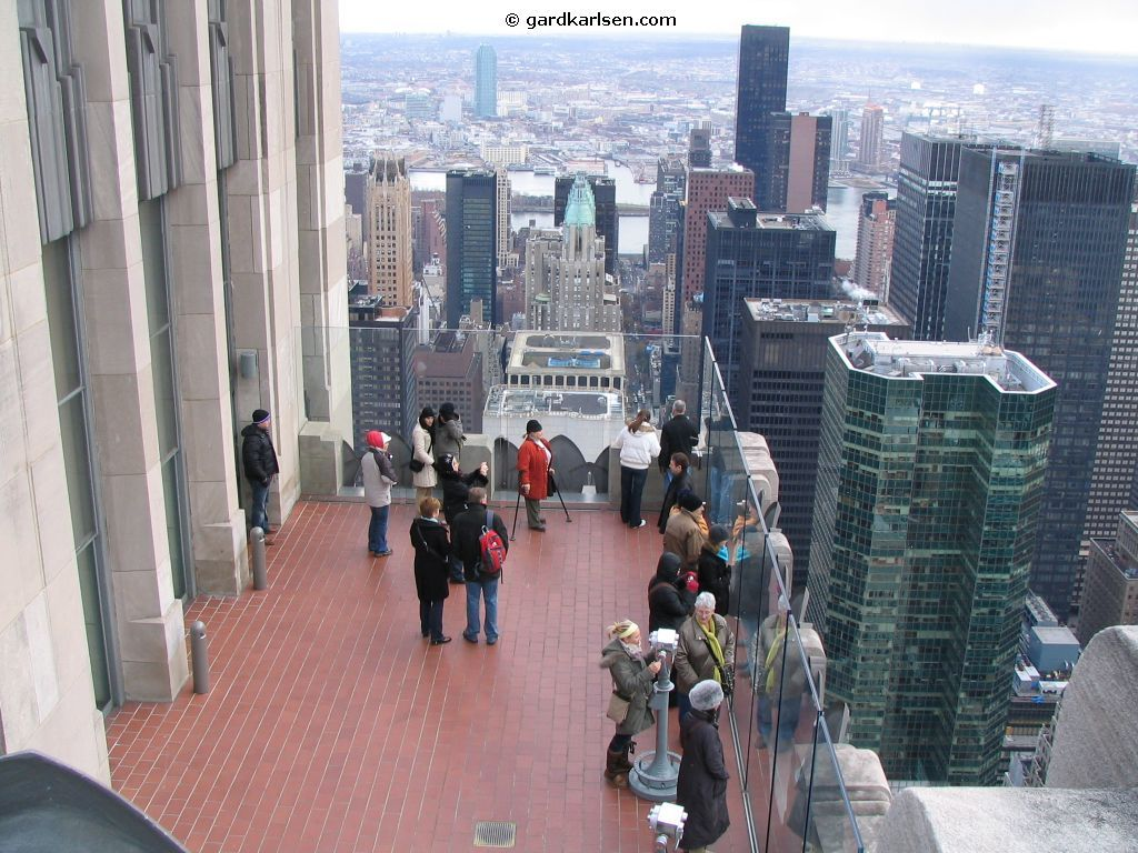 Top Of The Rock - Attractions/Entertainment, Restaurants, Bars/Nightife - 30 Rockefeller Plz, New York, NY, United States