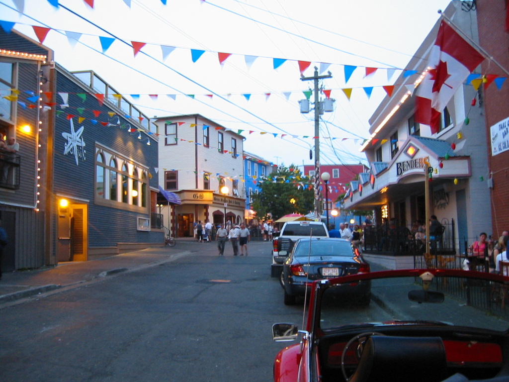 George Street - Attractions/Entertainment - George St, St John's, NL, A1C