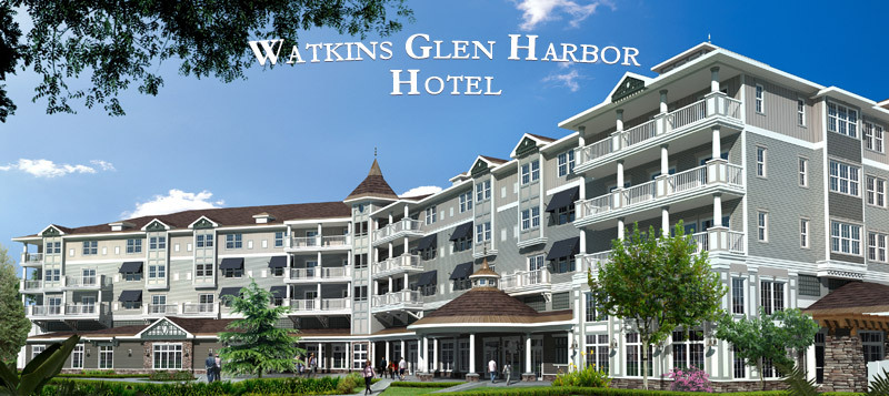 1. Watkins Glen Harbor Hotel - Hotels/Accommodations, Reception Sites - 16 N Franklin St, Watkins Glen, NY, United States