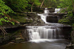 Buttermilk Falls State Park Camping Entrance - Attraction - 112 Buttermilk Falls Rd E, Ithaca, NY, United States