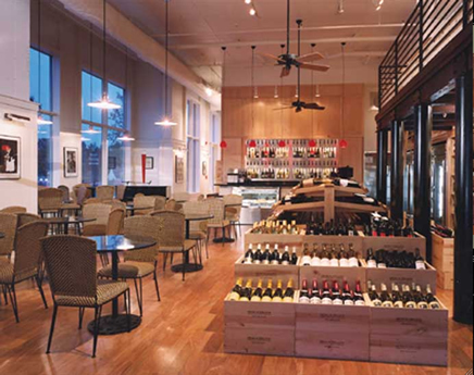 Dean & Deluca: Wine Room - Restaurants, Coffee/Quick Bites - 6822 Phillips Place Ct # G, Charlotte, NC, United States