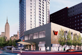 W - Hotels/Accommodations - 335 River St, Hoboken, NJ, 07030, US