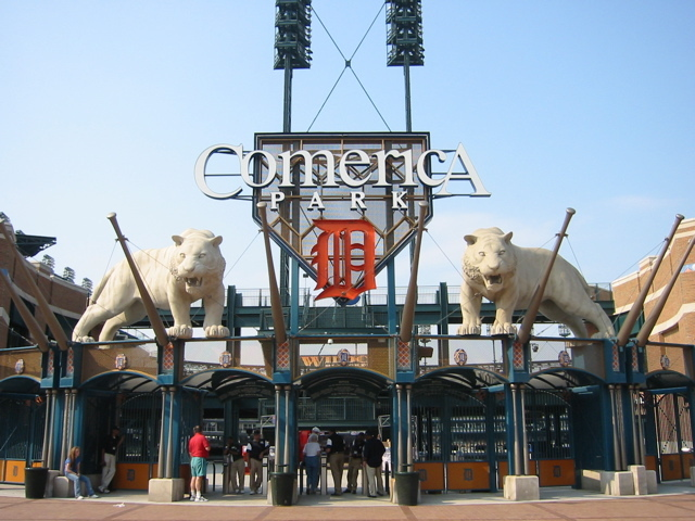 Comerica Park - Attractions/Entertainment - 2100 Woodward Ave, Detroit, MI, United States