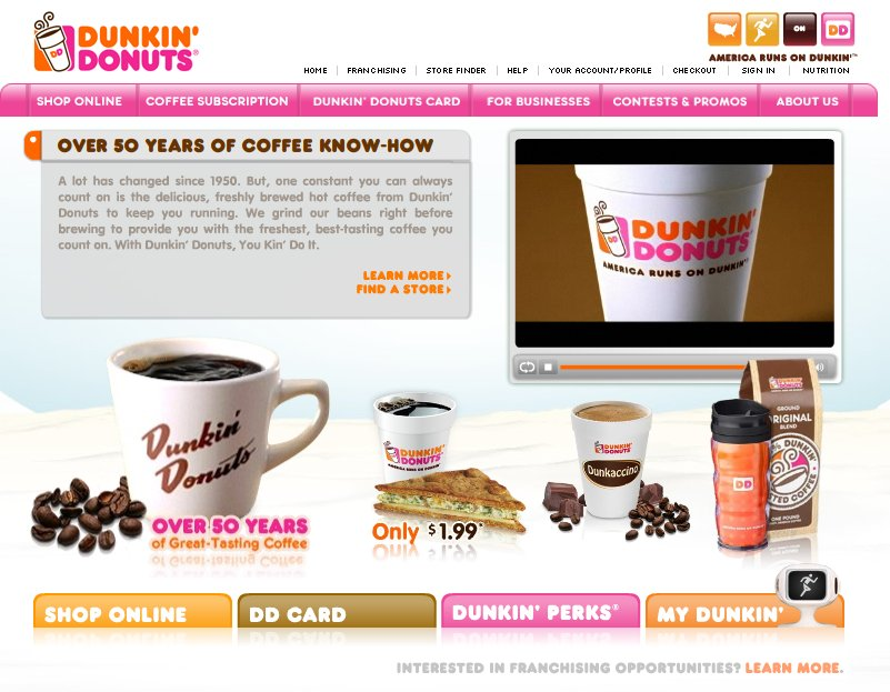 Dunkin' Donuts - Coffee/Quick Bites - 6 Queen St, Newtown, CT, 06470