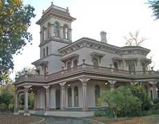 Bidwell Mansion - Attractions - 525 Esplanade, Chico, CA, 95926
