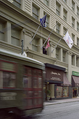 Hampton Inn Hotels &amp; Suites - Hotels/Accommodations - 226 Carondelet Street, New Orleans, LA, United States