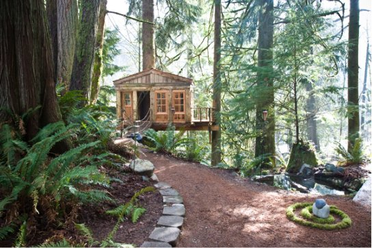 Treehouse Point - Ceremony Sites, Hotels/Accommodations - 6922 Preston Fall City Rd SE, Issaquah, WA, 98027