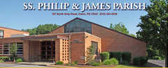 Saints Philip & James RC Church - Ceremony - 701 E Lincoln Hwy, Exton, PA, 19341, United States