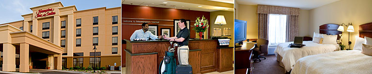 Hampton Inn - Hotels/Accommodations - 320 S Towanda Ave., Normal, IL, United States