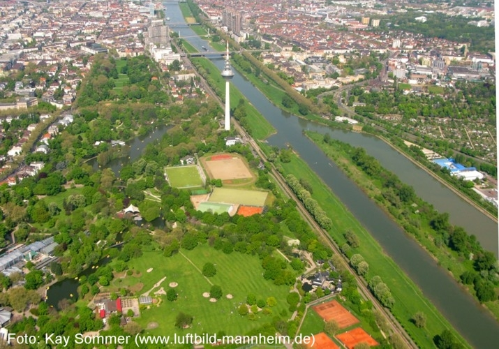 Luisenpark - Attractions/Entertainment - Mannheim, Baden-Württemberg