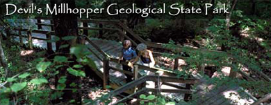 Devil's Millhopper Geological State Park - Attractions/Entertainment - 4732 Millhopper Rd, Gainesville, FL, United States