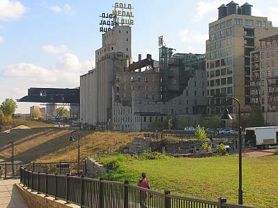 Mill Ruins Park - Attractions/Entertainment, Parks/Recreation - Mill Ruins Park, 103 Portland Ave. S, 55401