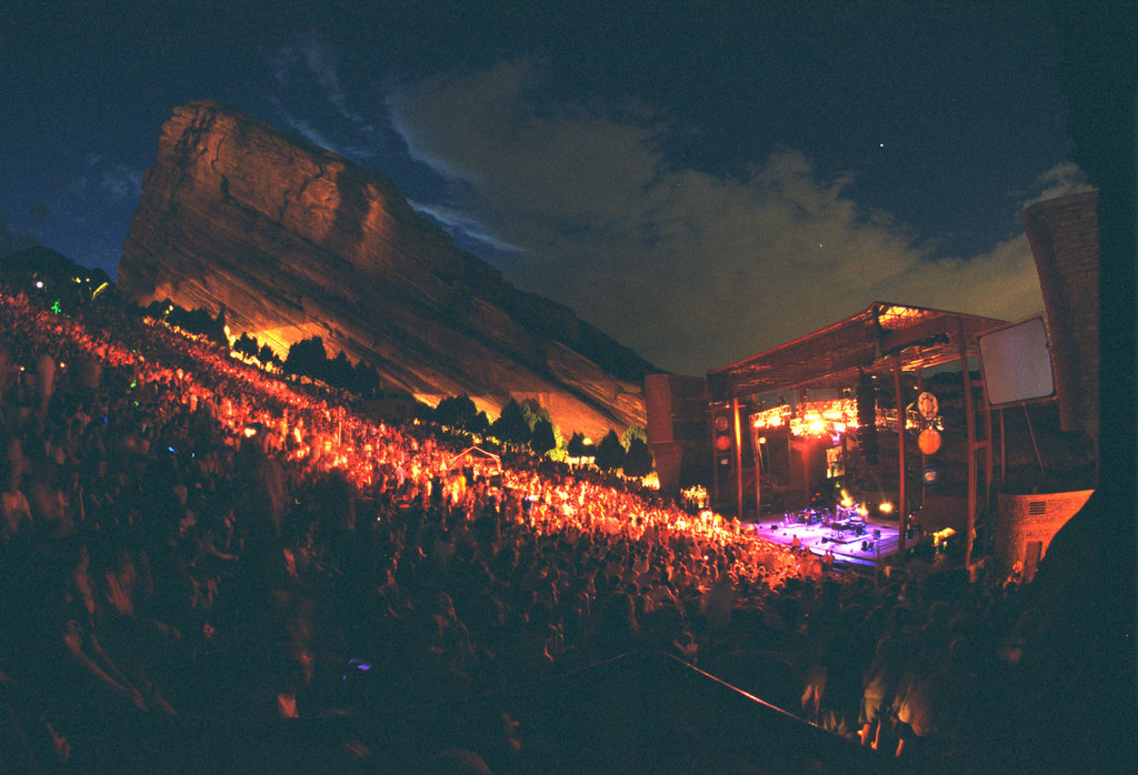 Red Rocks Amphitheatre - Attractions/Entertainment, Parks/Recreation - 18300 W Alameda Pkwy, Morrison, CO, United States